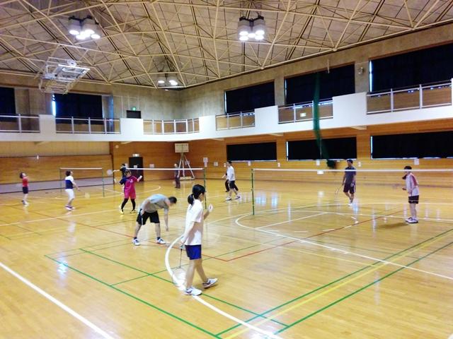 バドミントン 松戸(常盤平体育館) 1